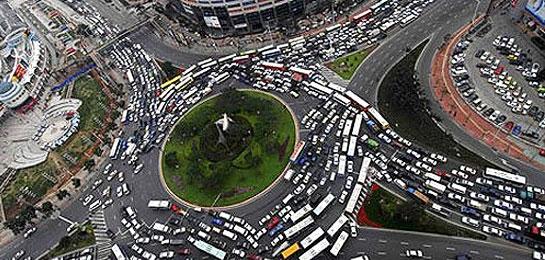 website traffic map