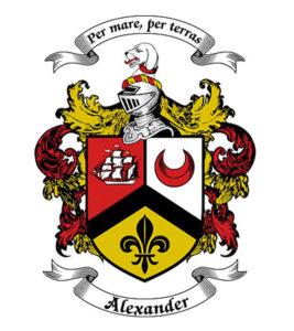 logo design family crest
